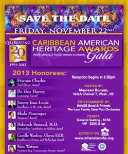 Caribbean American Heritage Awards Gala @ J W Marriott Hotel | Washington | District of Columbia | United States