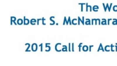 The World Bank Robert S. McNamara Fellowship Program awards fellowships of up to $25,000