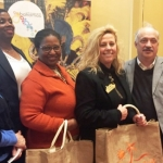 Travel Agents Brave the cold to hear about the Bahamas Sun